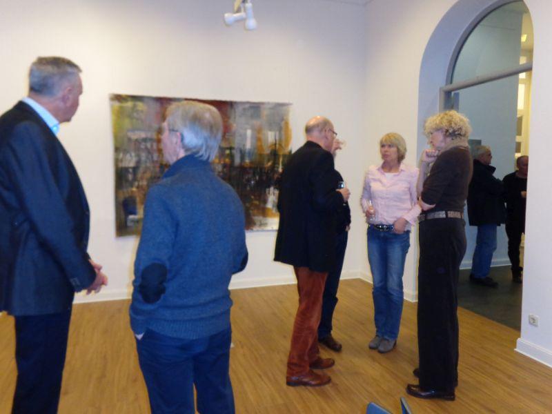 Ausstellungseröffnung von Beate Möller - Malerei und Objekte